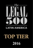 Pellerano & Herrera has been recommended by Legal 500 as a TOP TIER FIRM in Corporate and finance and Dispute resolution 2016