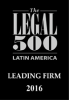 Pellerano & Herrera was recognized by Legal 500 in Real Estate & Tourism 2016