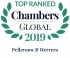 "Top Ranked ""Leading Firm"" by Chambers Global 2019 2019"