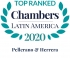 Top Ranked  by Chambers Latin America 2020 2020