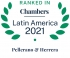 Ranked by Chambers Latin America 2021 2021