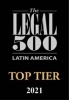 Top Tier firm by Legal 500 Latin America 2021 2020