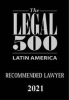 Partner Lucy Objio recommended by Legal 500 Latin America 2021