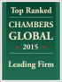 "Top Ranked ""Leading Firm"" by Chambers Global 2015"